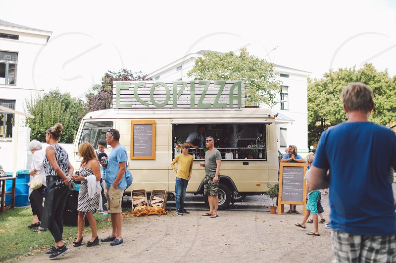 street food haarlem netherlands summer photo