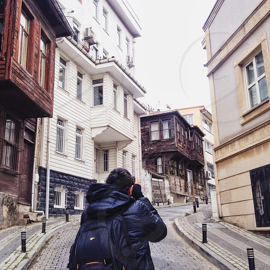 Exploring the streets of Istanbul  photo