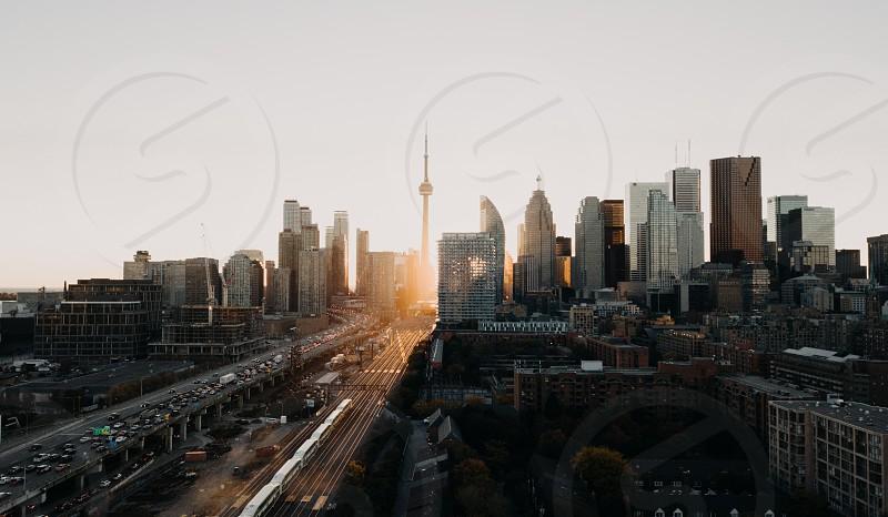 Toronto Sunset photo