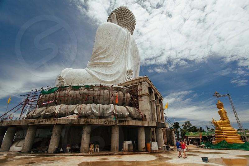 Big Buddha on Phuket island photo