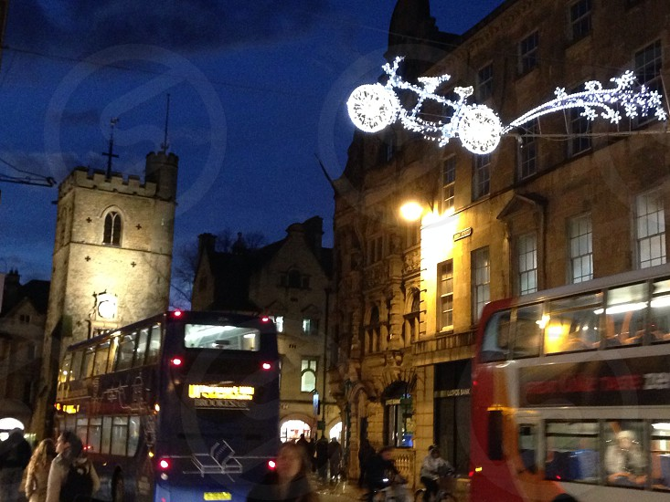 Christmas Eve Oxford 2013  photo