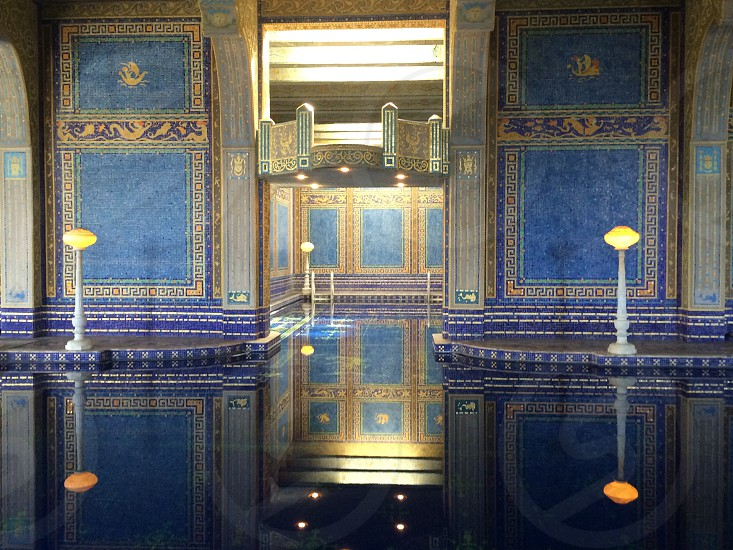 Roman Pool at Hearst Castle photo