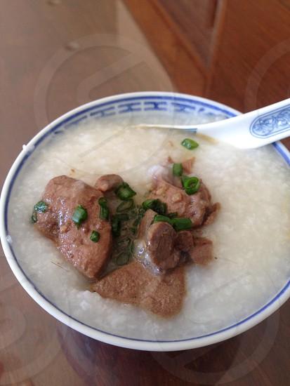 Food congee photo