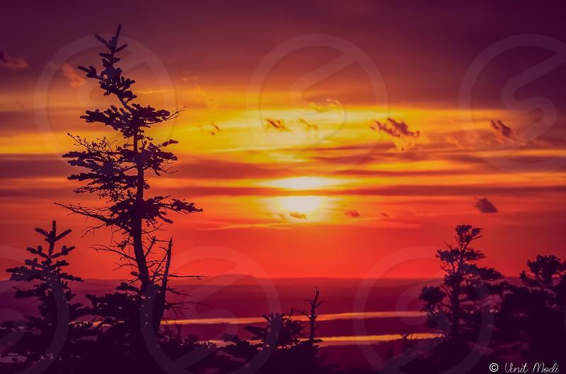 Travel Sunset Landscape photo