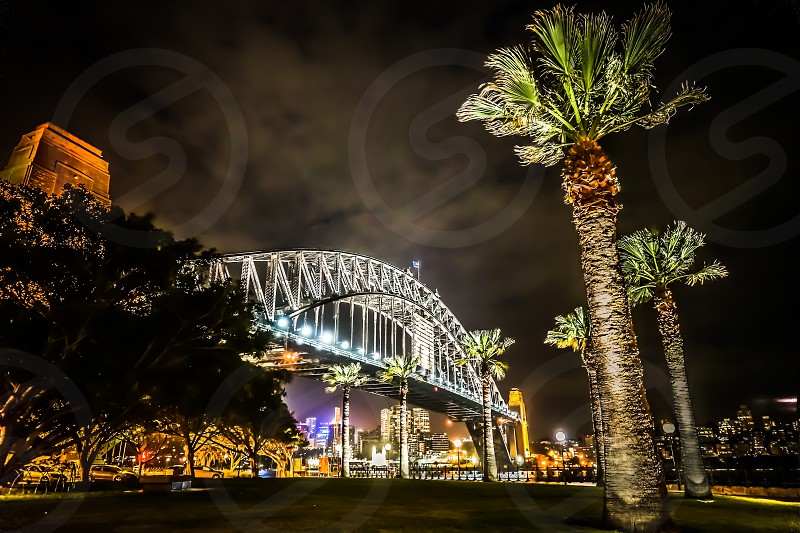 Sydney Harbour Bridge - More of my back yard Sydney Australia. photo