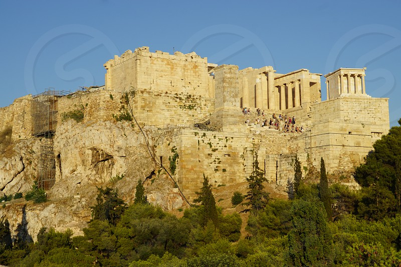 Temple of Athena Nike in Athens Greece photo