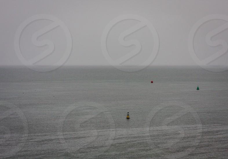Lake Taupo NZ. Grey day. photo