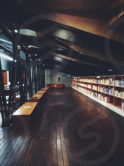 Steel library  photo