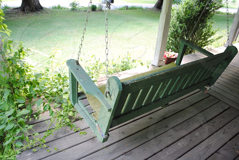 Front porch Baywood Virginia photo