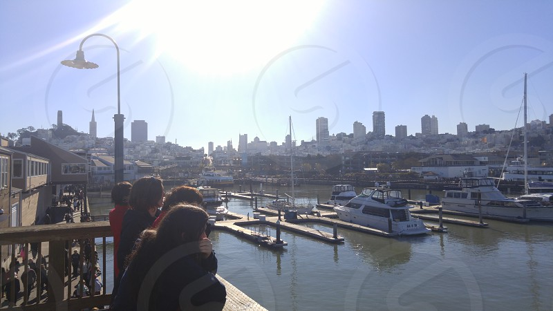 The Bay skyline. photo