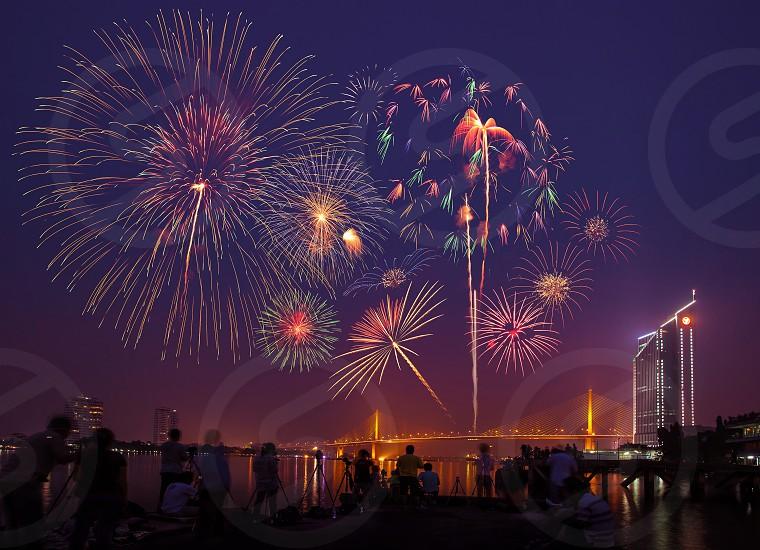 Rama IX Bridge Bangkok Thailand photo