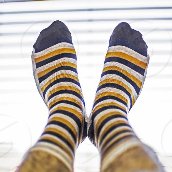 Stripy Socks... photo