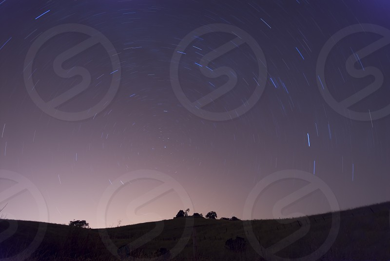 stars in sky image photo