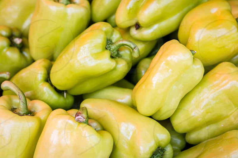 Green Bell Peppers photo