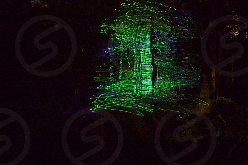 LaserWerx; i created this with a green laser and 30 sec shutter at 6400 ISO. photo
