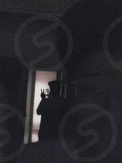 | A mirrors shadow | photo
