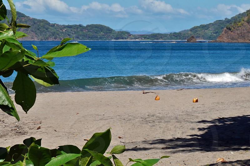 Playa Hermosa beach in Guanacaste Province Costa Rica photo