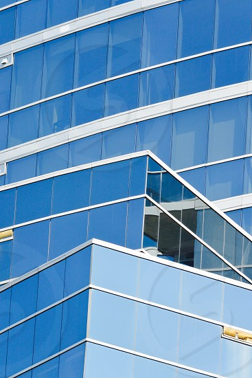 Buildings Lines Shapes Glass Metal Windows Geometric Geometry Architecture  photo