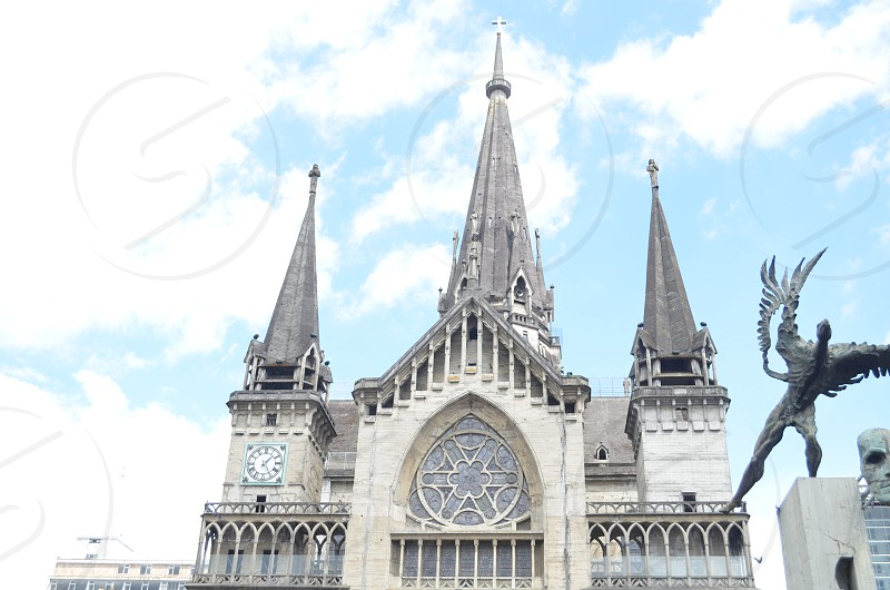 Cathedral of Manizales Colombia. photo