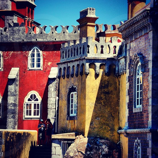 Sintra Portugal  #portugal #sintra #castle photo