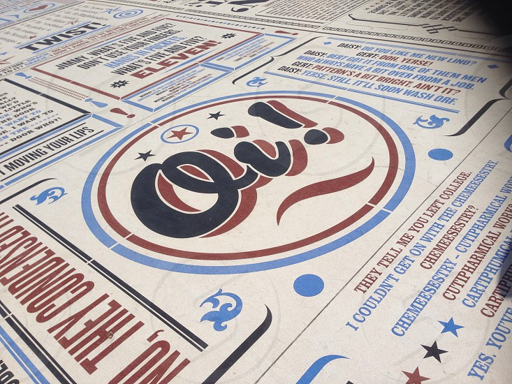 Blackpool Golden Mile Typography Art photo