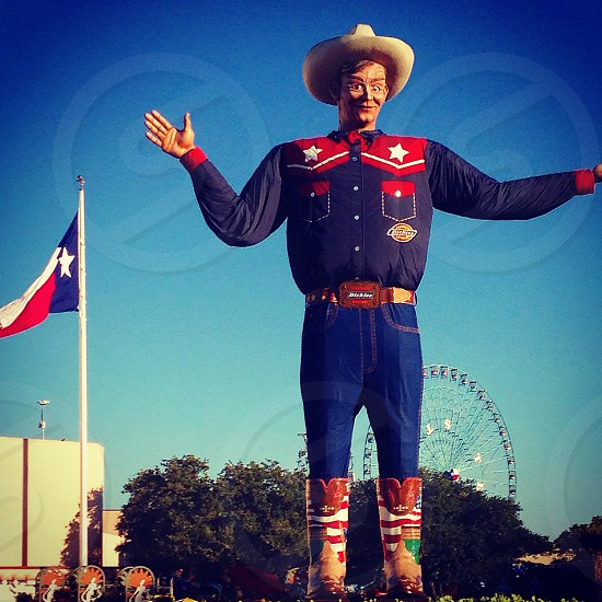 Big Tex at the Texas State Fair photo