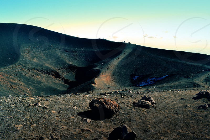 Etna vulcano Sicily photo