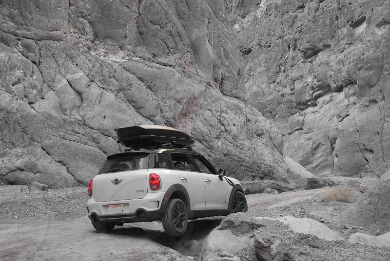 Canyon dirt road photo