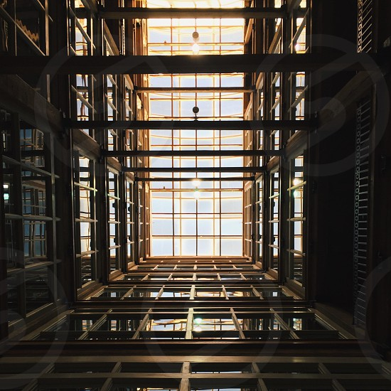 metal building structure  photo