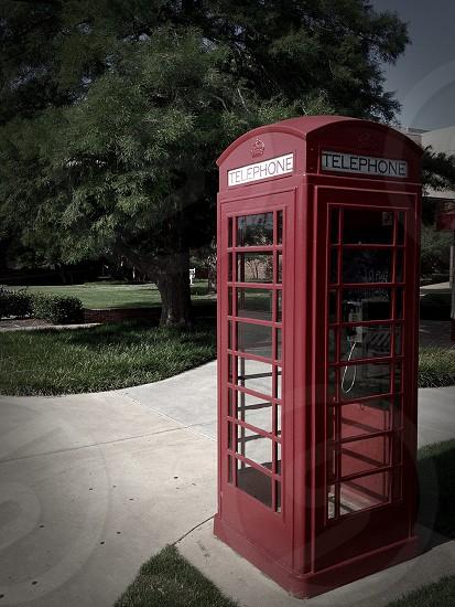 payphone telephone box photo