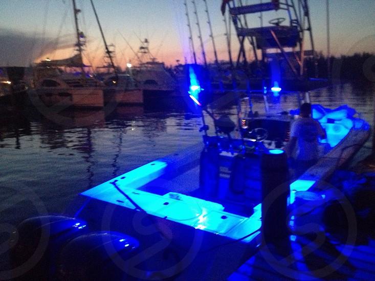 Bahamas fishing harbor venture boats photo