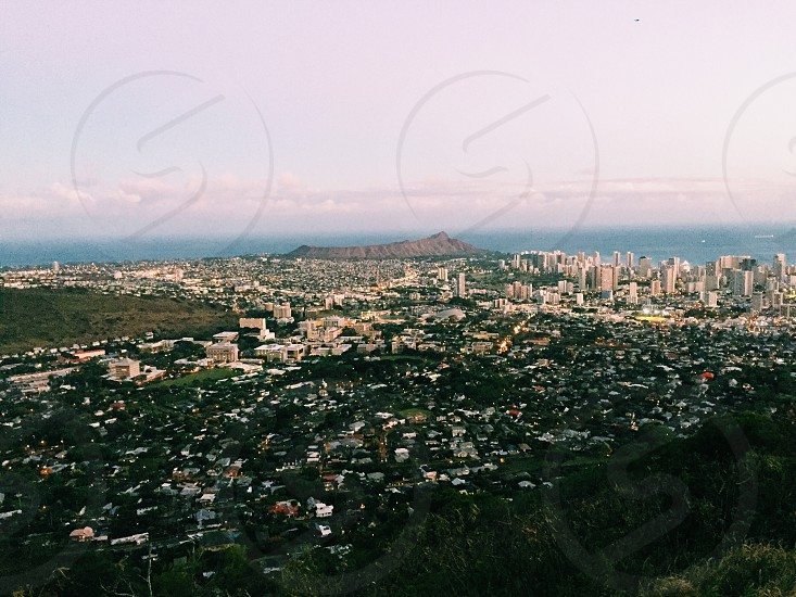 Tantalus lookout- Oahu Hawai'i photo