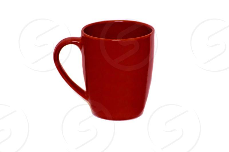 mug red mug red vessel drinking vessel coffee cup concept photo