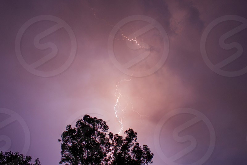 Lightning electric power nature strike corporate commercial scenery weather rain landscape photo