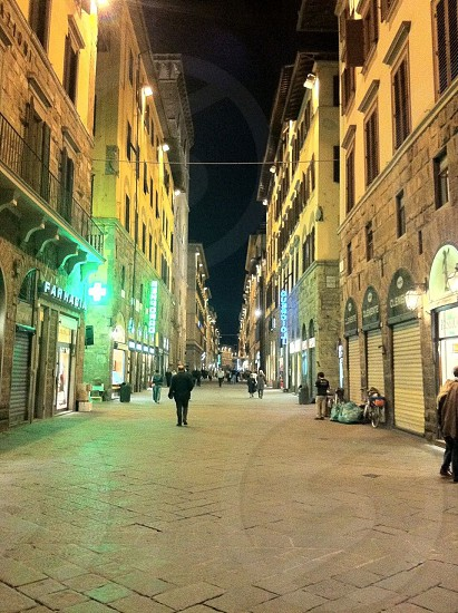 Florence streets.  photo