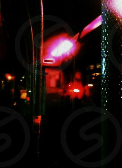 neon bus travel transport night moody conceptual bar photo danger blour depth photo
