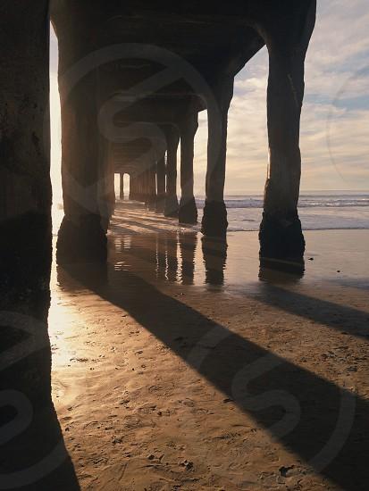 wood pier  photo