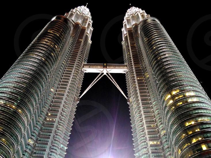 KLCC  Menara Petronas Twin Tower  photo