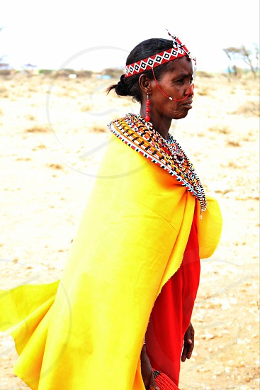 Samburu Woman photo