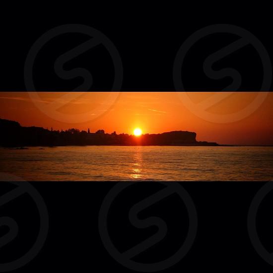 Sunset Corfu photo