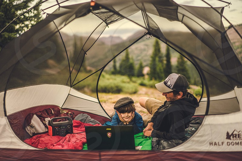 computer technology nature camping beauty nature childhood family happiness beauty photo