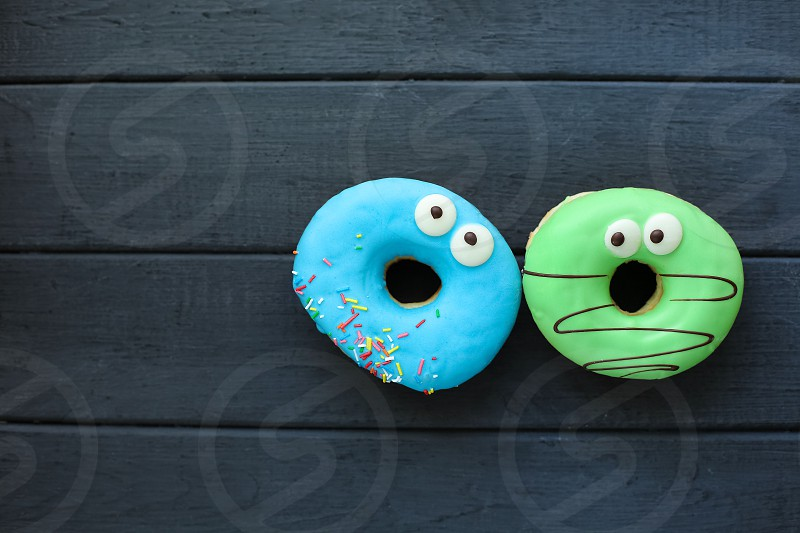 Cute donuts friends funny food photo