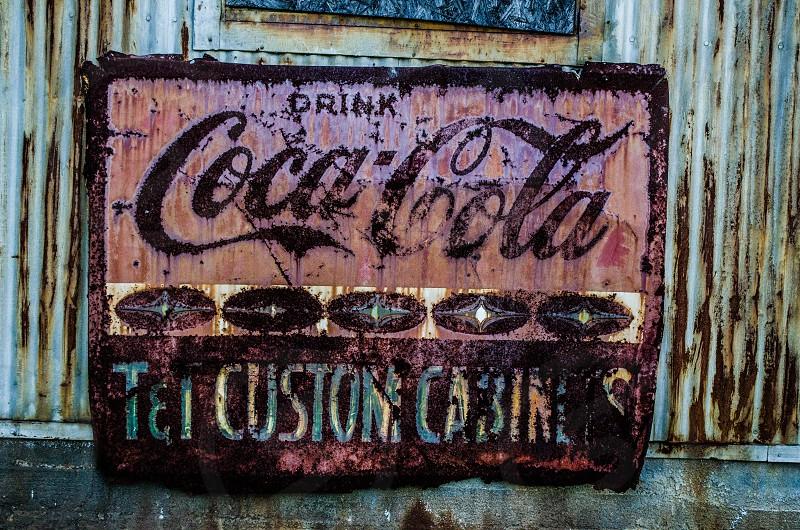 """""""Coke Sign"""" photo"""