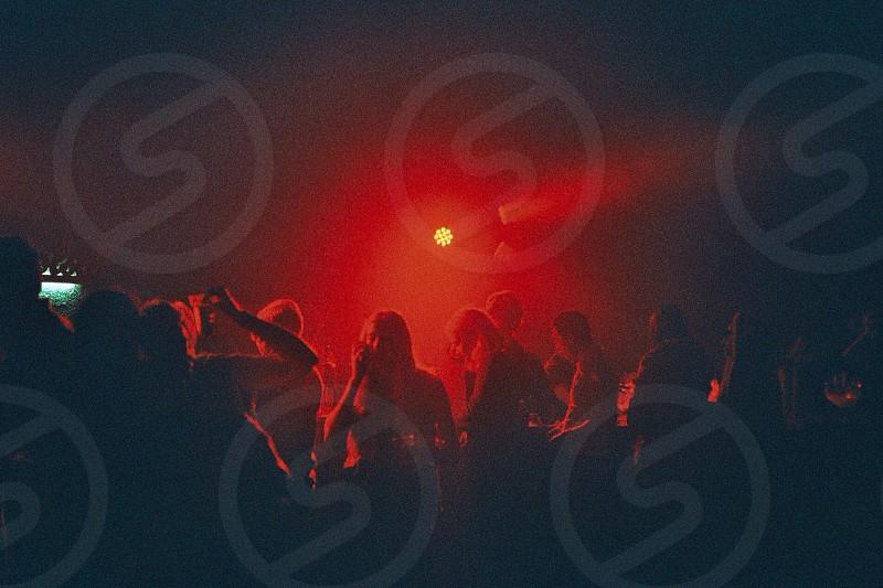 Parisian club. photo
