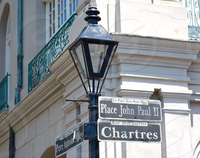 New orleans street sign photo