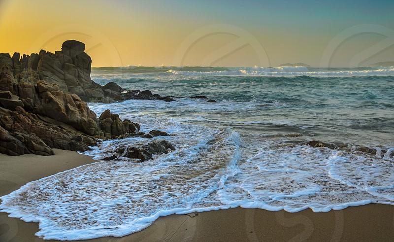 color sea photo