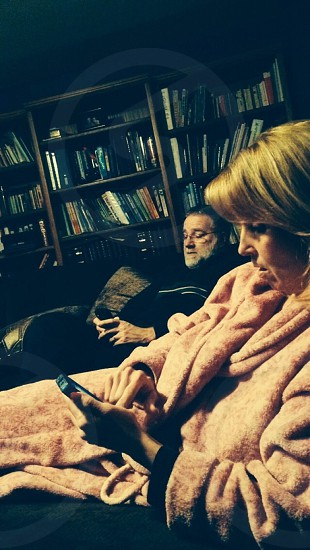 Parents discover the smartphone photo