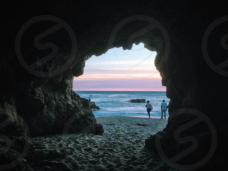 cave entrance photo