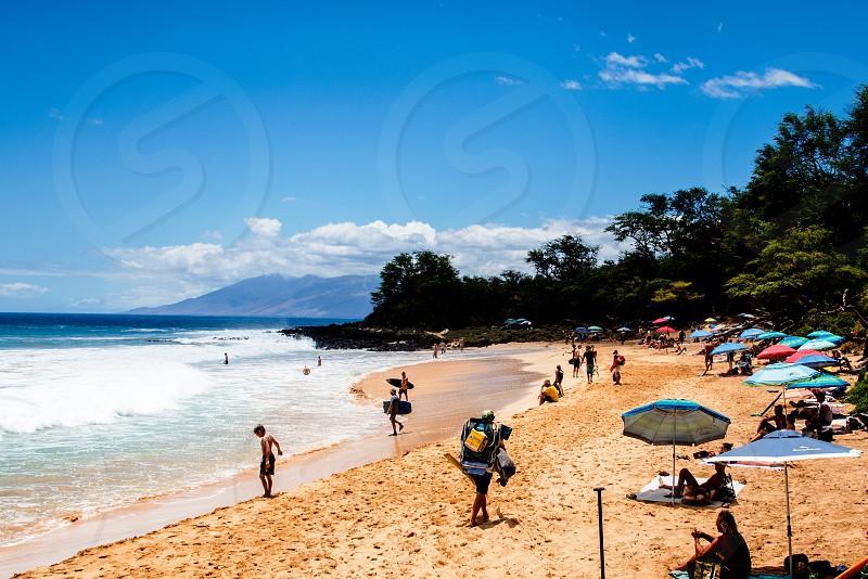 Coastal lifestyle tropical island images warm summer climate travel vacation photo