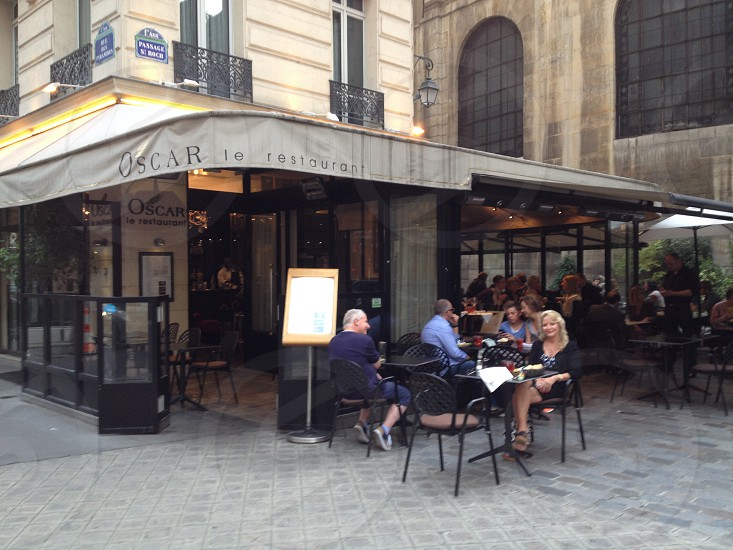 Paris brasserie.  photo
